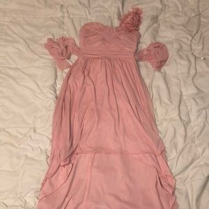 pink dress!!